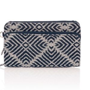 Thirty-One Perfect Cents Wallet- Diamond Weave